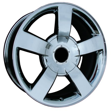 (2003-2009 Chevrolet Silverado 1500  20x8.5 Aluminum Alloy Wheel, Rim Chrome Plated - 5243)