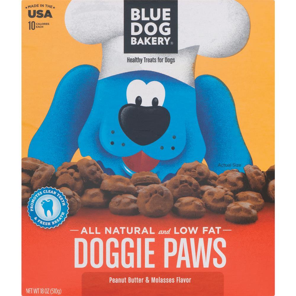 Blue Dog Bakery Doggie Paws Peanut Butter Dog Treats, 18 Oz by Blue Dog Bakery