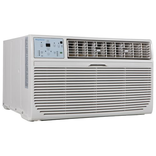 Keystone 14,000-BTU 230V Through-the-Wall Air Conditioner with 10,600-BTU Supplemental Heat Capability