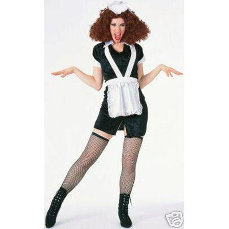 Rocky Horror Magenta Dress and Hat womens halloween costume XL (No Wig)