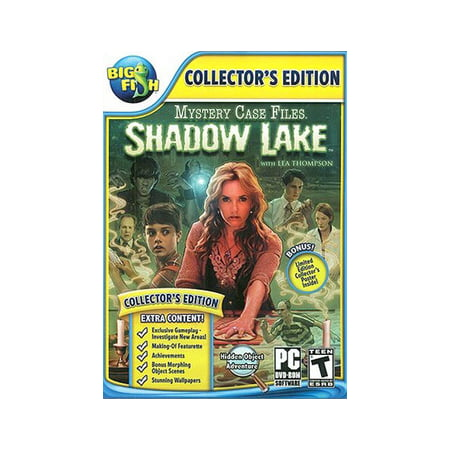 Mystery Case Files 9: Shadow Lake, Activision Blizzard, PC Software,