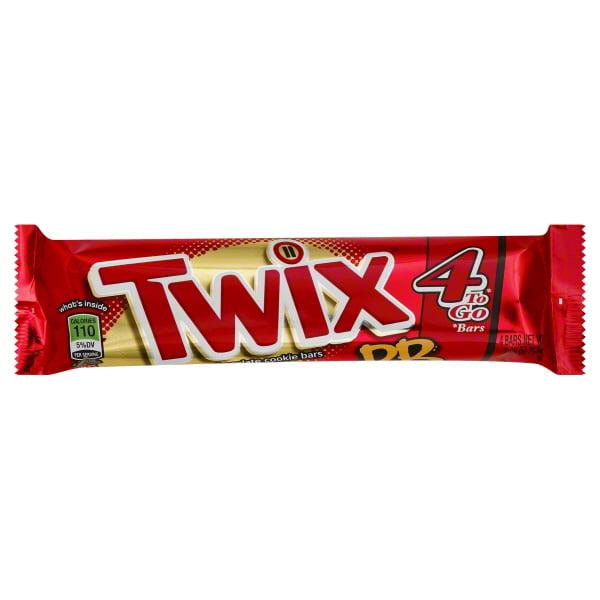 Twix, Milk Chocolate Peanut Butter, King Size Bar