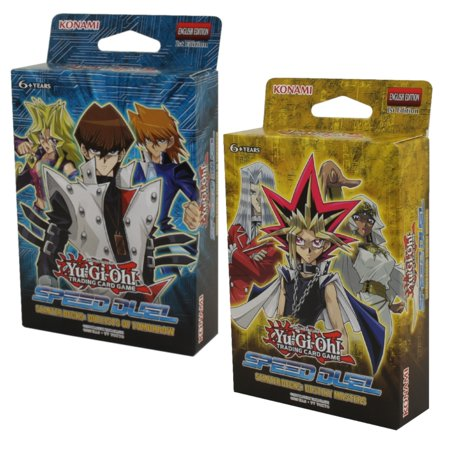 Yu-Gi-Oh Cards - Speed Duel Starter Decks - SET OF 2 (Destiny Masters & Duelists of Tomorrow) Ice Master Yu Gi Oh