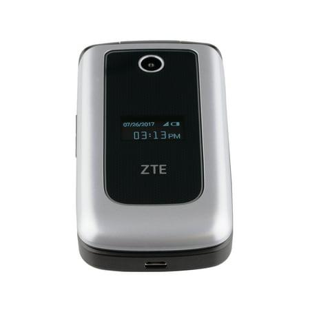 Verizon Wireless Zte Cymbal Prepaid Phone  Silver