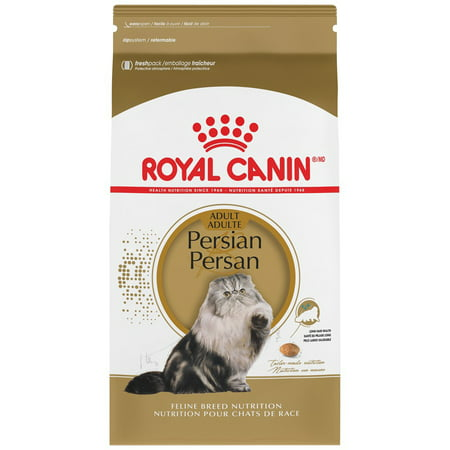 Royal Canin Persian Adult Dry Cat Food, 7 lb (Best Food For Persian Cats)