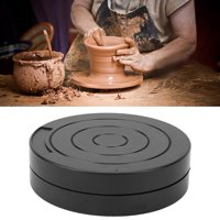 LYUMO Clay Turntable, Plastic Turntable Ceramic Clay Sculpture Tool 12cm Clay Model Sculpture Turntable