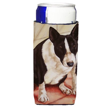 Bull Terrier English Bully Ultra Beverage Insulators for slim cans