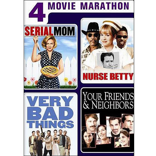 4 Movie Marathon: Dark Comedy Collection - Serial Mom / Nurse Betty / Very Bad Things / Your Friends & Neighbors (Widescreen)