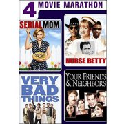 4 Movie Marathon: Dark Comedy Collection Serial Mom   Nurse Betty   Very Bad Things   Your Friends & Neighbors... by UNIVERSAL HOME ENTERTAINMENT