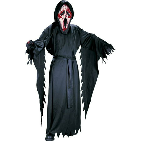 Bleeding Ghost Face Boy's Costume - Gentleman Ghost Costume
