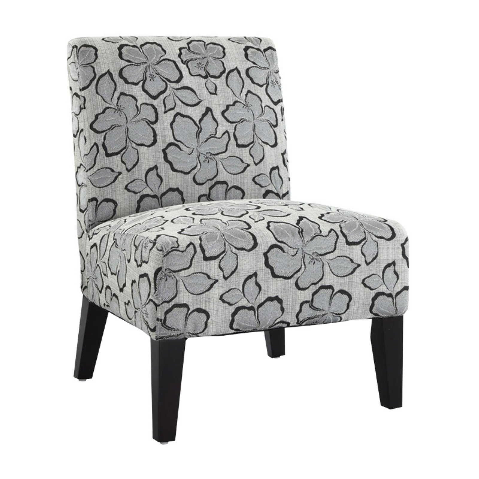 Monaco Accent Chair - Hibiscus Pewter