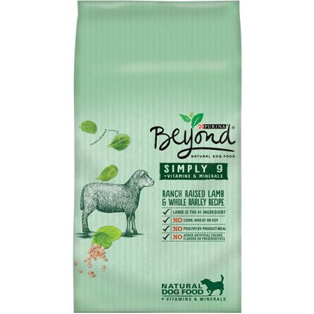Purina Beyond Simply 9 Ranch Raised Lamb   Whole Barley Recipe Dry Dog Food  3 7 Lb