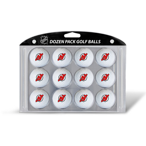 Team Golf NHL New Jersey Devils Golf Balls, 12 Pack