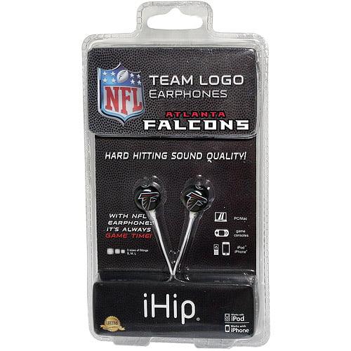 iHip NFL Mini Earbuds, Atlanta Falcons
