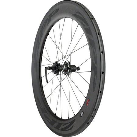 (Zipp 808 Tubular Disc Brake Rear Wheel 700c 24 Spokes 10/11 Speed SRAM)