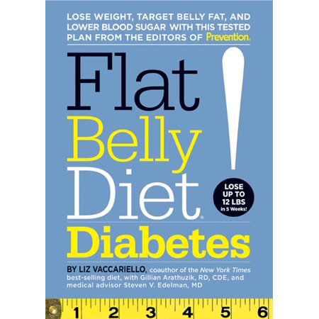 Flat Belly Diet! Diabetes : Lose Weight, Target Belly Fat, and Lower Blood