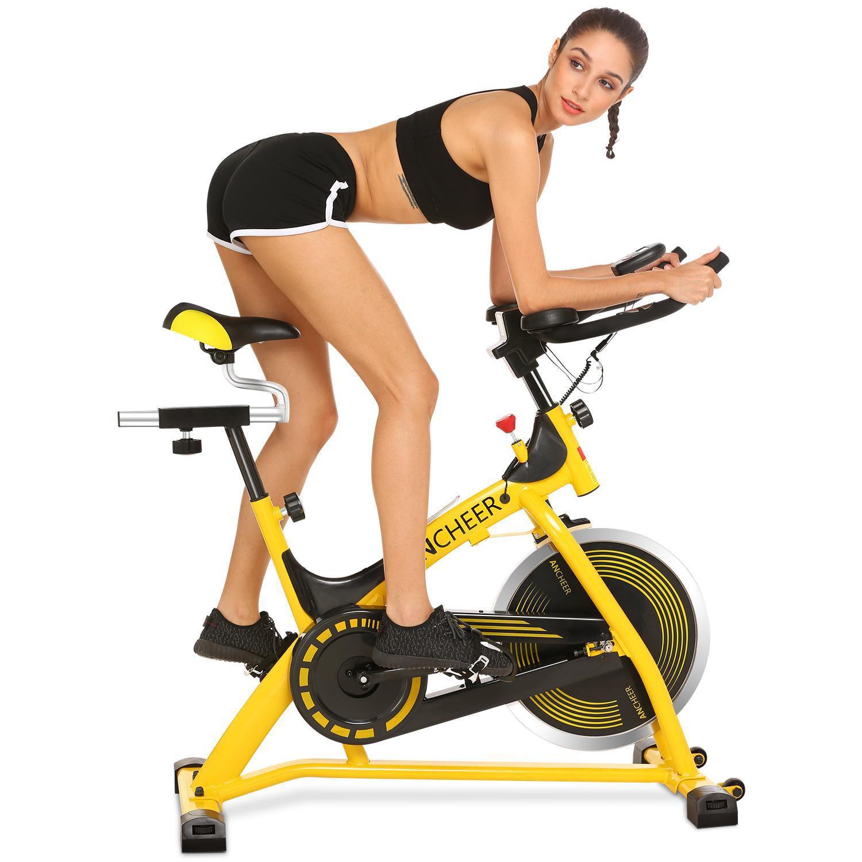 Hot Sales!!!  Indoor Cycling Bike Exercise Bike Home Gym Fitness Indoor Cycling Training Exercise Bike