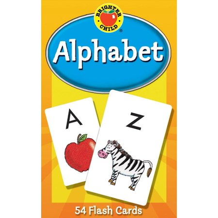 Alphabet Flash Cards (Jumbo Flash Cards)