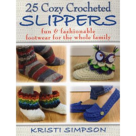 25 Cozy Crocheted Slippers - Halloween Crochet Coffee Cozy