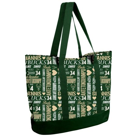 UPC 191418376990 product image for Giannis Antetokounmpo Milwaukee Bucks Women's Player Collage Tote Bag | upcitemdb.com