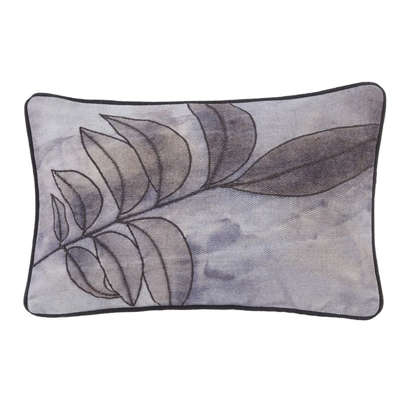 Ashley Olly Throw Pillow in Gray by Ashley Furniture
