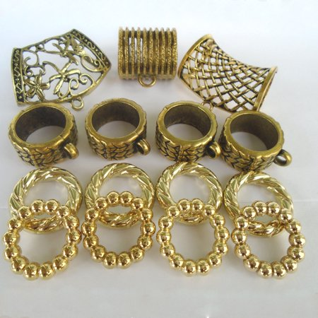 15x Fashion Jewelry Wholesale Jewelry Supplies Scarf Ring Bail, Gold Tone S00650 Sold (Ring Supply)