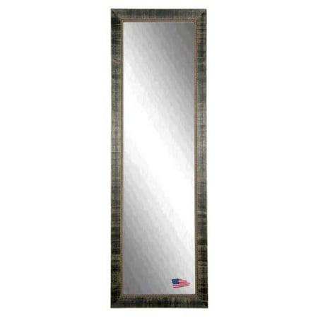 Rayne mirrors tuscan ebony full length body wall mirror for Black full length wall mirror