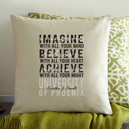 - Personalized Graduation Dreams Pillow
