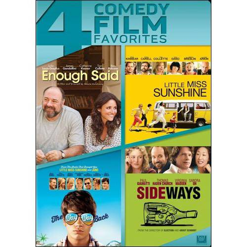 4 Comedy Film Favorites: Enough Said   The Way Way Back   Little Miss Sunshine   Sideways by