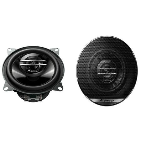"PIONEER TS-G1020F 10cm G-series 4"" Inch 2-Way Coaxial Car Speakers 210W Each"