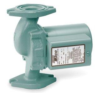 Taco Hot Water Circulator Pump Model 007-F5-9; 115V