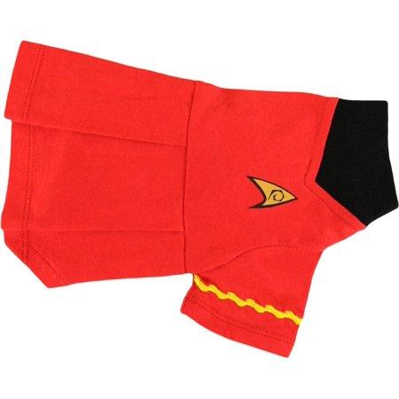 Pets Supply - Dog T-Shirt - Star Trek - Uniform Dog Skirt Red Uhura-S ST262