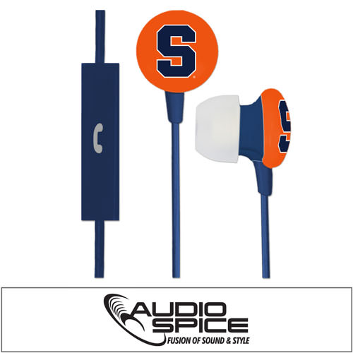 Syracuse Orange Ignition Earbuds + Mic