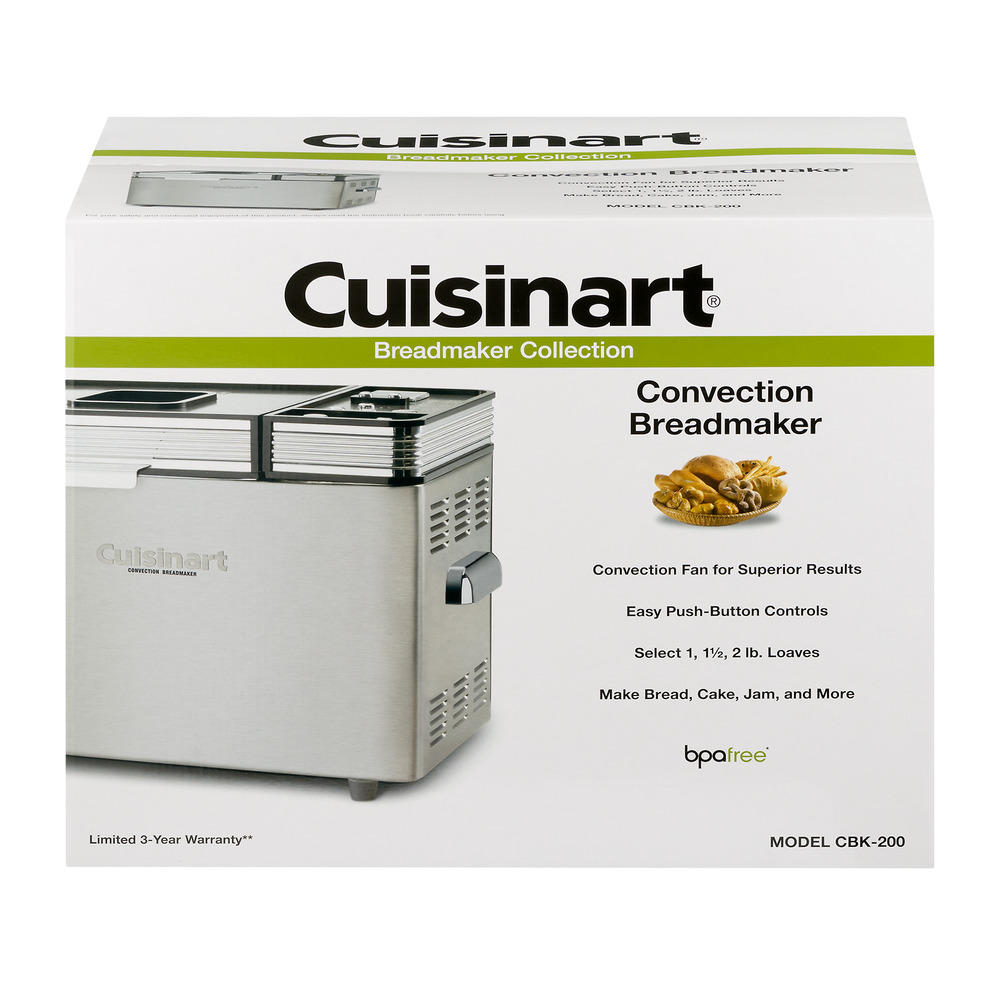 Cuisinart Breadmaker Collection Convection Breadmaker, 1.0 CT by Conair Corporation