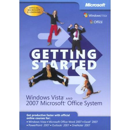 Microsoft Getting Started  Windows Vista   2007 Microsoft Office System