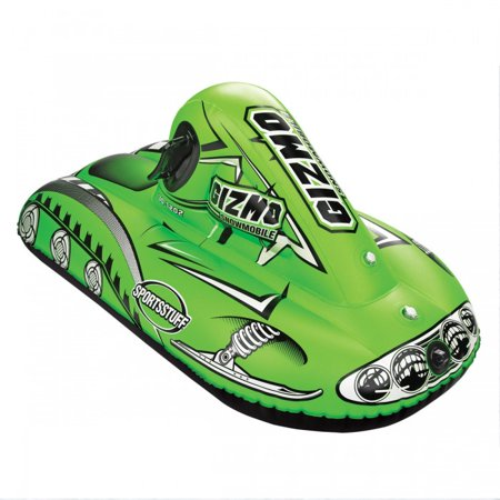 SPORTSSTUFF GIZMO GREEN Snow Tube - Winter Snowmobile Sled - image 2 of 2