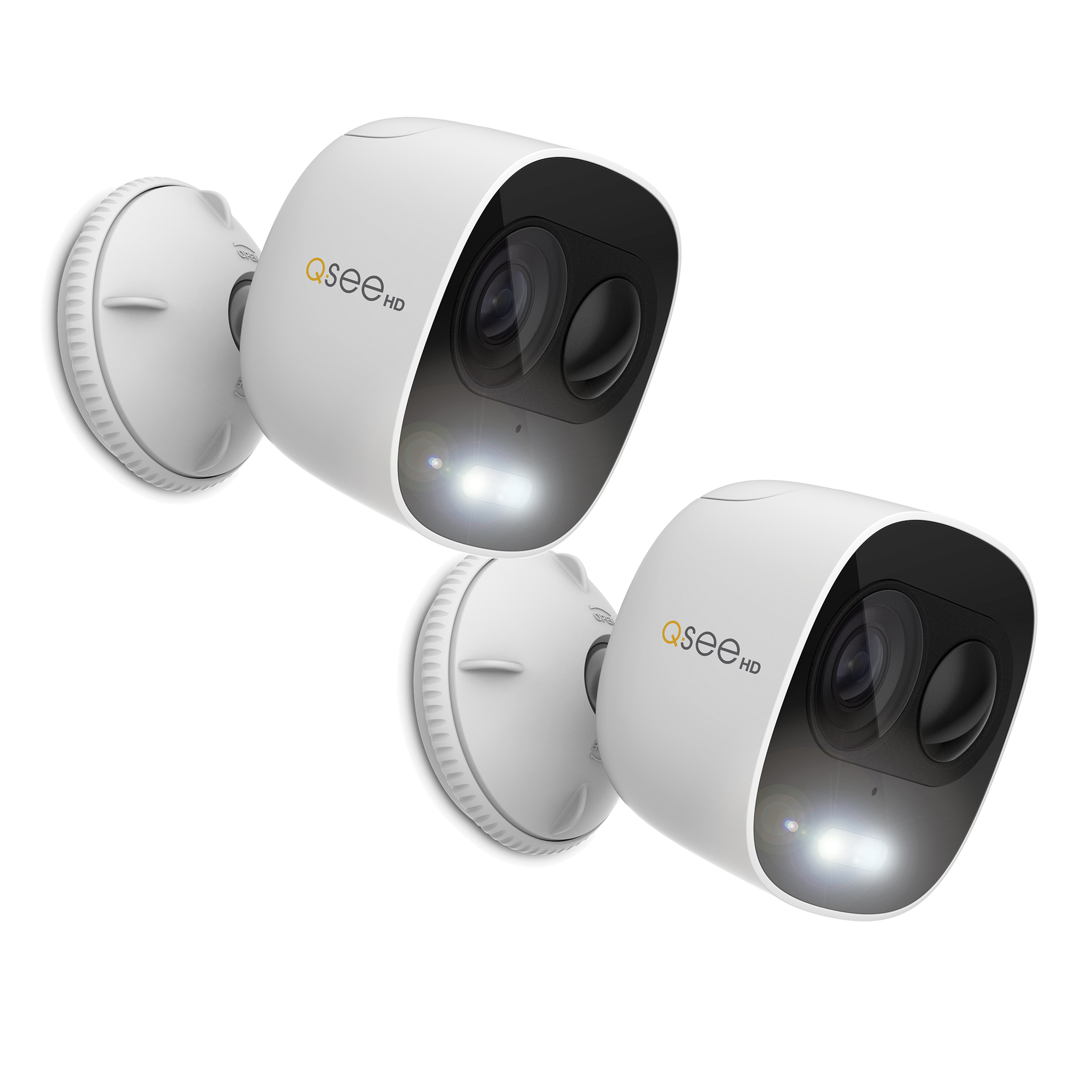 1080p Wi-Fi Spotlight Camera 2 Pack with PIR and Siren