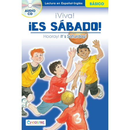 Creative Teaching Materials Spanish-English Book W/CD-Hooray! Its Saturday! - image 1 of 1