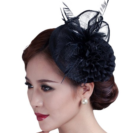 d3581b06aa7 Fascigirl Cocktail Fascinator Hat Ladies Tea Party Hats Flower Hat ...