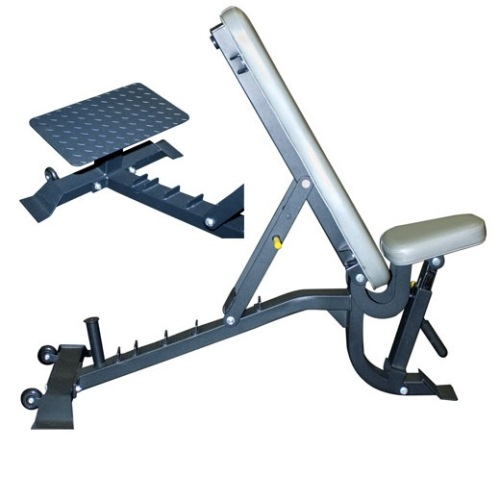 Champion Multi Bench with Wheels and Spotter Stand