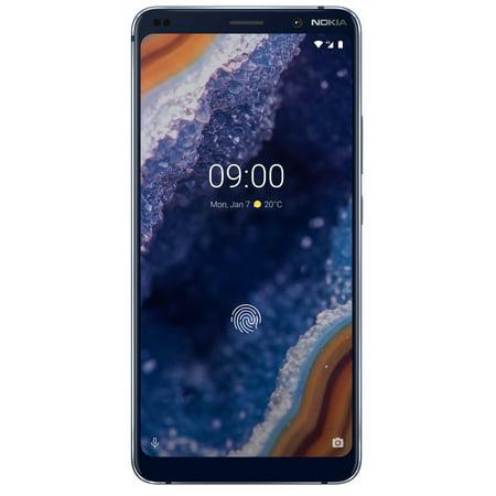 Nokia 9 Pureview TA-1082 128GB GSM Single & Hybrid Dual SIM Phone w/13 MP Camera -