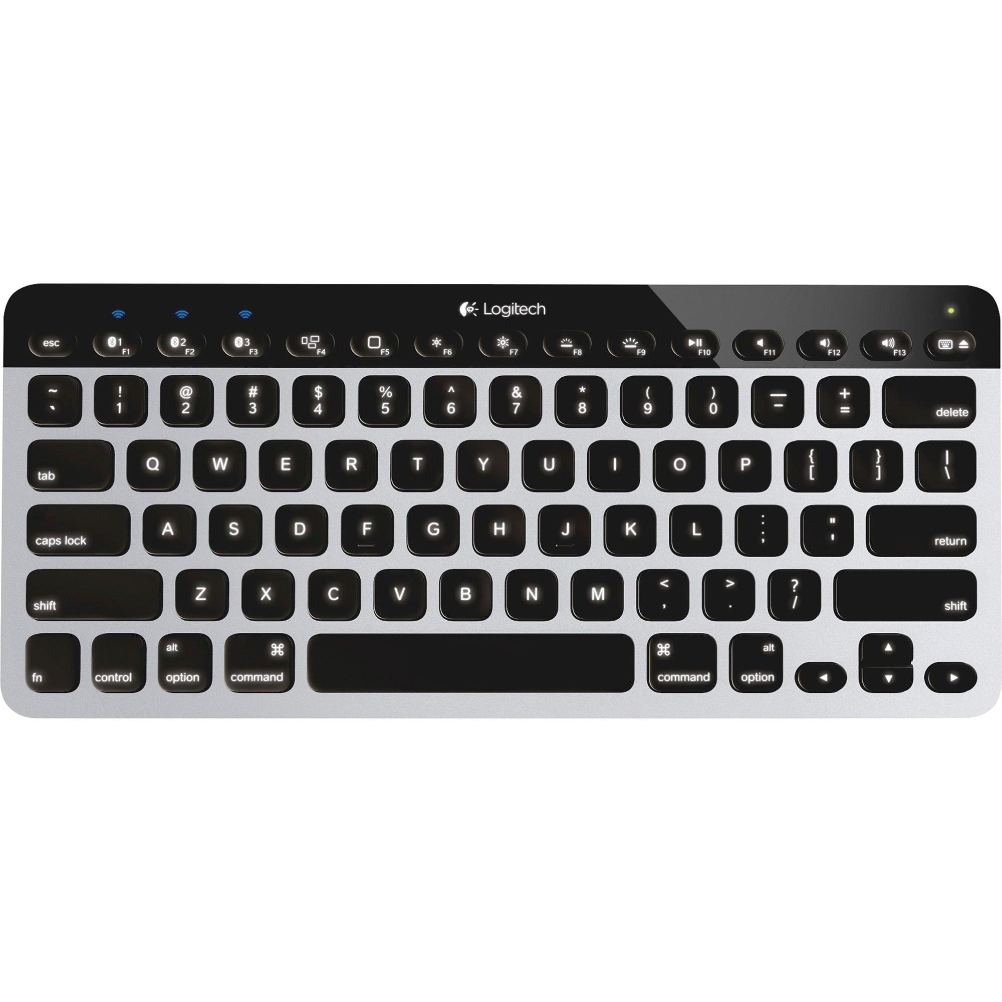 Logitech Bluetooth Easy-Switch Keyboard, Aluminum