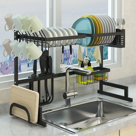 Sink Rack Dish Drainer for Kitchen Sink Racks Stainless ...