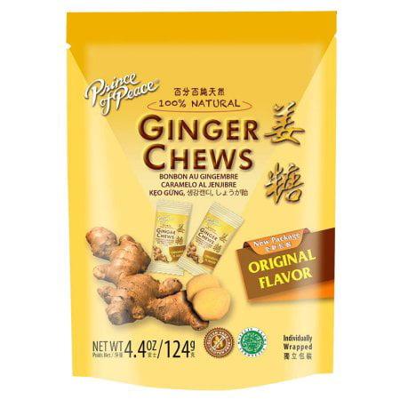 (4 Pack) Ginger Chews Original