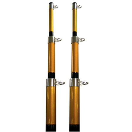 Seachoice Outrigger Poles Telescoping Outrigger Pole-15' Black - 88211