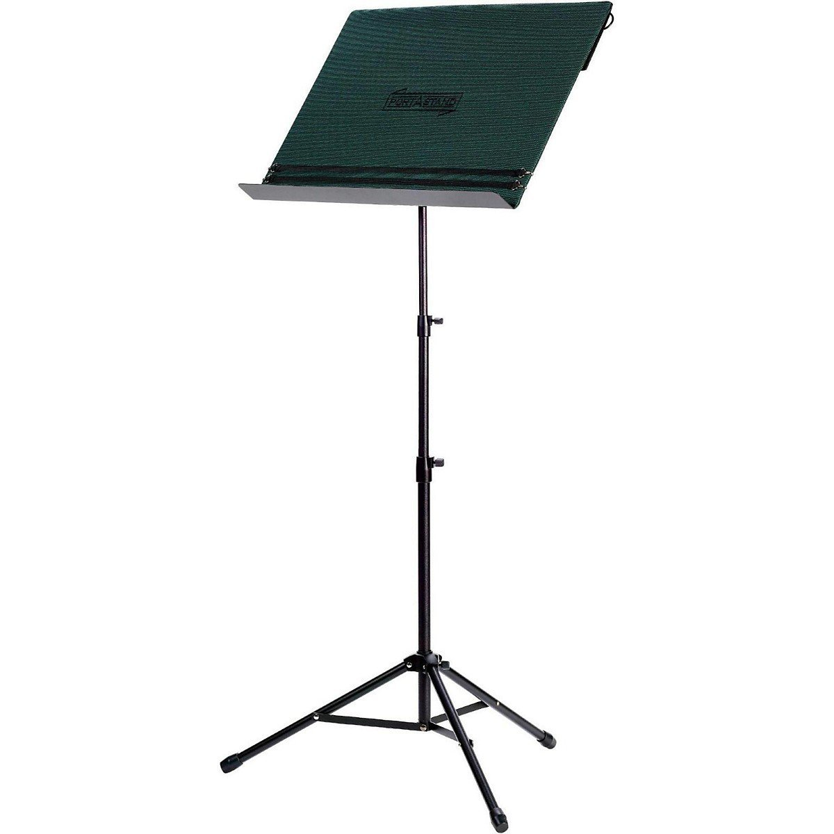 Portastand Portable Music Stand w  Twill Dark Green Cover by PORTASTAND