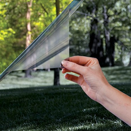 "Gila 70% Heat Control Window Film, Static Cling, 36"" x 6.5"