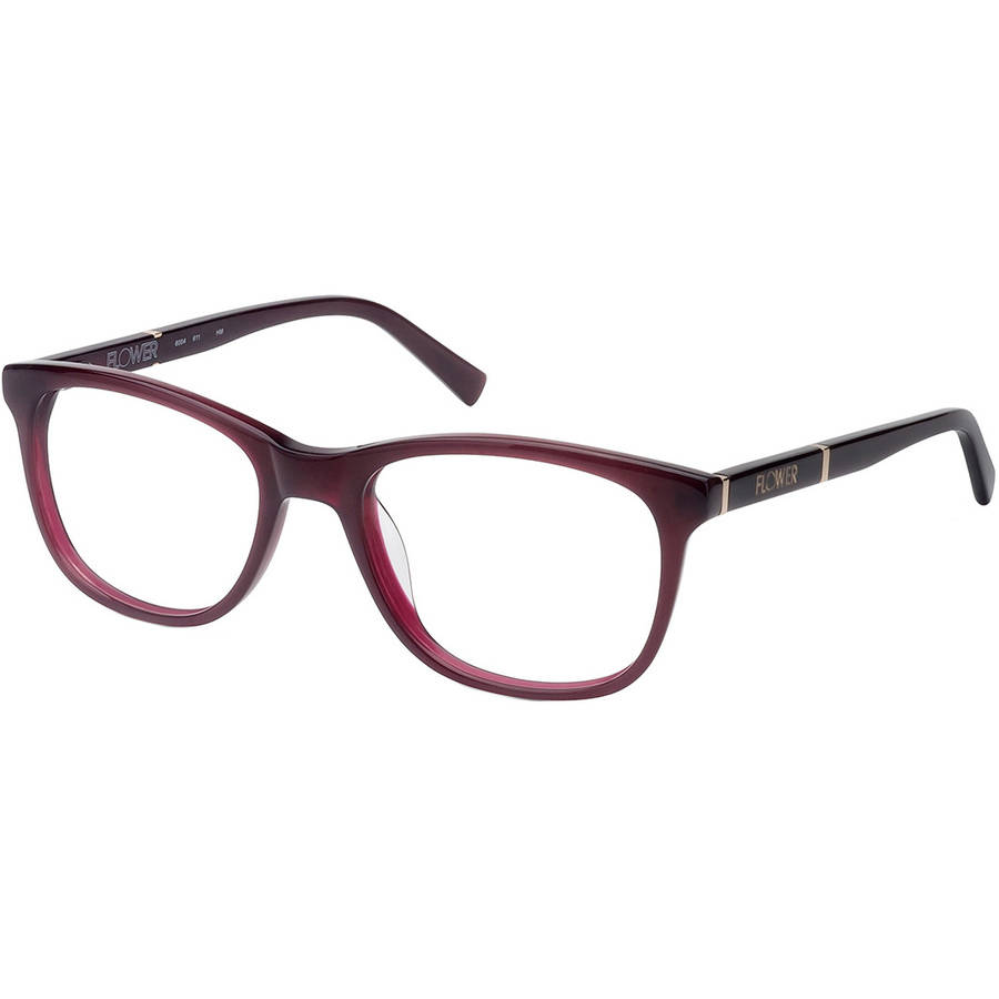 flower womens prescription glasses rachel red walmartcom