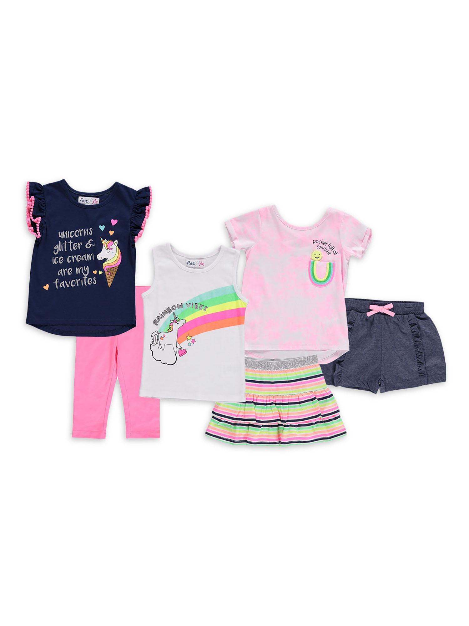 Pybcvrrd Baby Girl Cotton Long Sleeved Pullover Sweatshirt Tassel Rainbow Striped T-Shirt Tops
