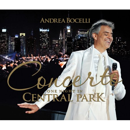 Concerto One Night in Central Park (CD) (Includes DVD)